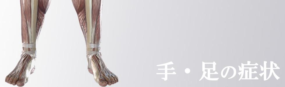 手・足の症状